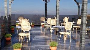 3D cafe terrace