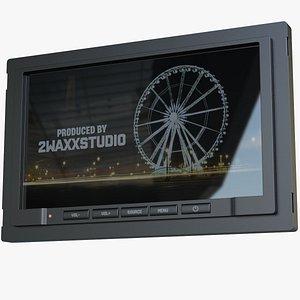3D model Retractable Screen Monitor