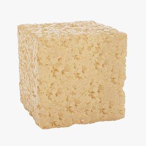 sugar cube 3D model