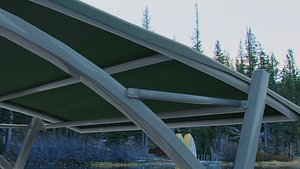 3D canopy model