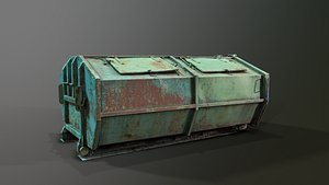 3D Garbage Container