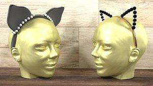 Cat ears 3D