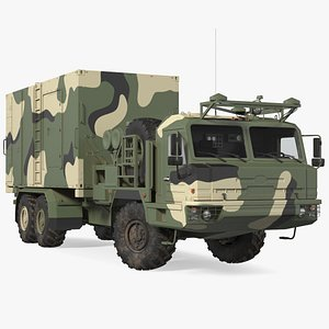 3D command control vehicle 50k6