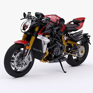 3D Mv Agusta Brutale 1000 Serie Oro 2019 Limited Edition