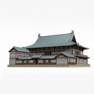 ancient buildings luxury 3D model