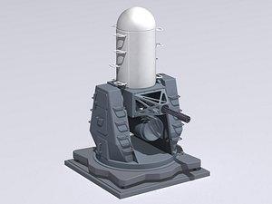 3D model mk-15 phalanx