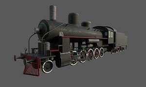 3D Steam locomotive EA-2408