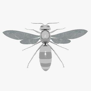 robot wasp 3D