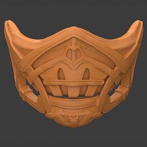 Scorpion Mask 2021 - 3D Printable 3D