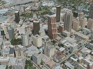 atlanta city 3D