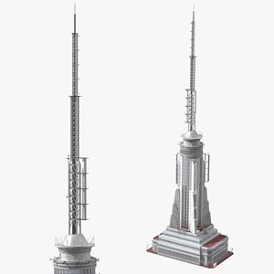 Empire State Building Spire 3D model