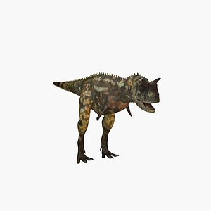 3D Carnotaurus model