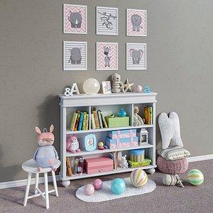 madison classic accessories furniture 3D model