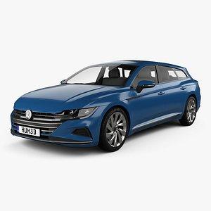 3D Volkswagen Arteon Shooting Brake Elegance 2020