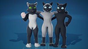 FurSuit Cat 3D model
