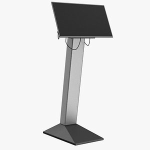 3D security scanner monitor model
