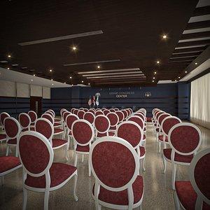 congress briefing room 3D model