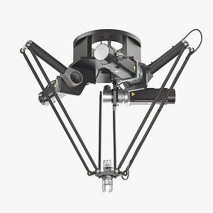 3D model Industrial Delta Robot