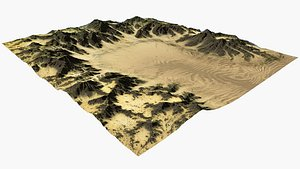 Mountain and Dune model