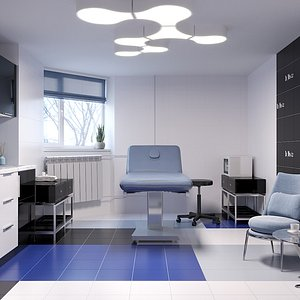 Cosmetologist's room 3D