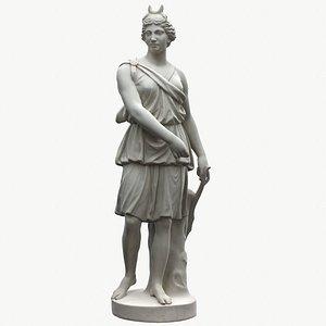 Sculpture of Artemis 3D model