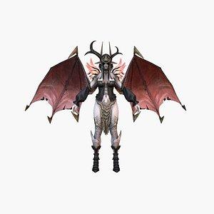 Vampire Woman 3D model