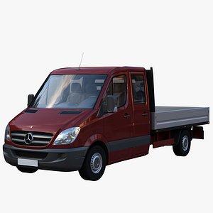 sprinter van truck 3D