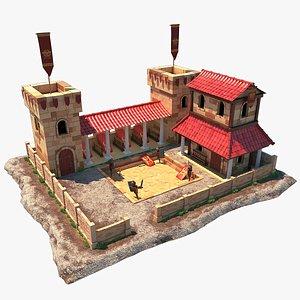 3D Roman Training Camp
