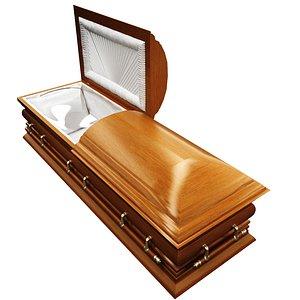 3d model coffin modeled