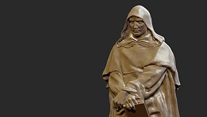 giordano bruno 3D model