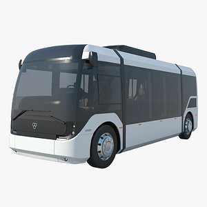 vero electric bus 3D model