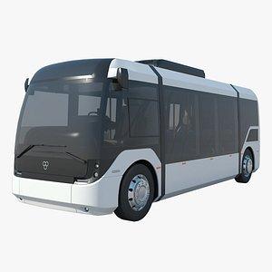 vero electric bus 3D model