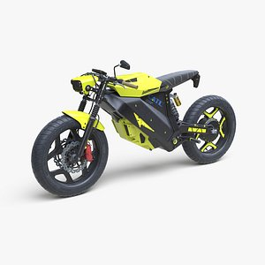 Electric motorcycle Expressive 3D model
