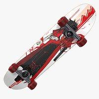 Skateboard A Red - PBR