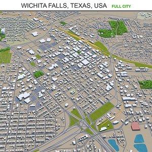 Wichita Falls Texas USA 3D model