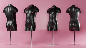 3D mannequins decor