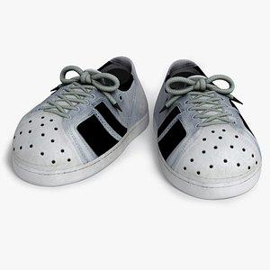 sneakers cartoon s 3D model