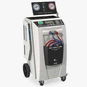 waeco asc 5500 air conditioning 3D model