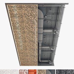 Decorative Ceiling set 03 3D model