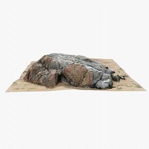 3D Rock 3D Scan 14