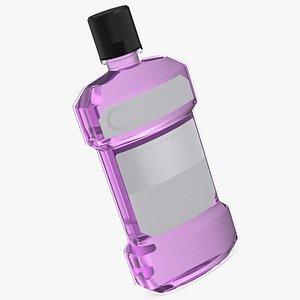 3D Antiseptic Mouthwash 1L Bottle