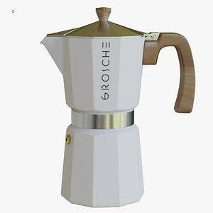 3D moka pot espresso
