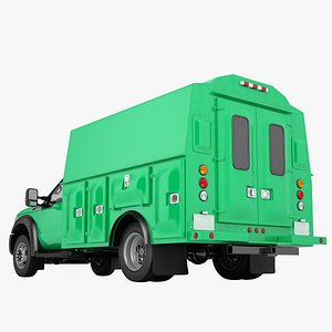 Ford F450 2012 Service Truck 03 3D model