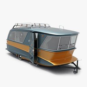 trailer house 3D model