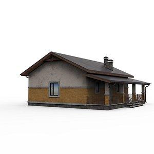 building architecture hut 3D