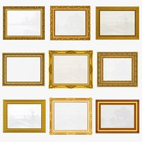Collection of Picture Frames v4