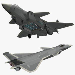 Chengdu J20 3D model