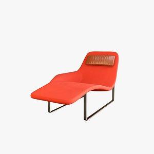 3D Landscape Chaise V3