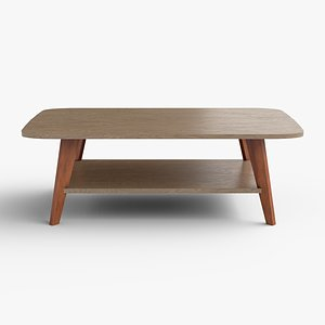 Alfanso Coffee Table engineered wood 3D