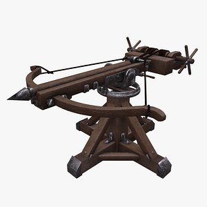 3D ballista weapon